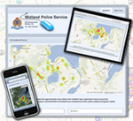 Crime Plot Crime Mapping - A Midland Police Service Shared Solution