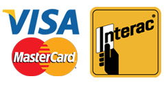 Now accepting Visa, Mastercard and Debit Payments